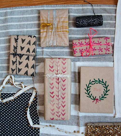 Projects: 21 Unique Gift Wrapping Ideas