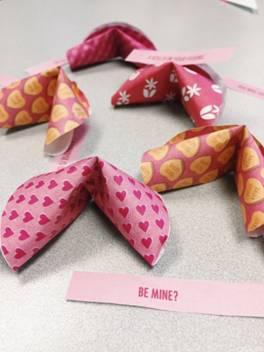 Freebie: Valentine 3D Fortune Cookie Printable