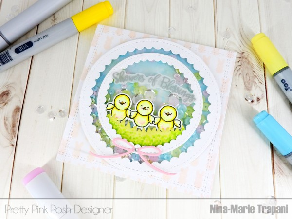 Project: Easter Shaker Card
