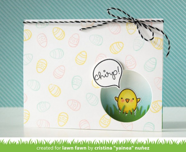 Project: Easter Window Card