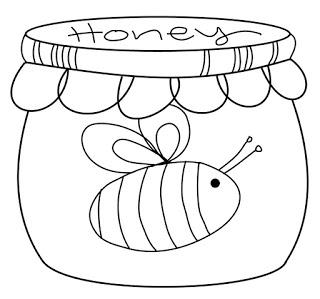 Freebie: Honey Pot Digi Stamp