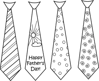 Freebies: Father's Day Digital Stamps
