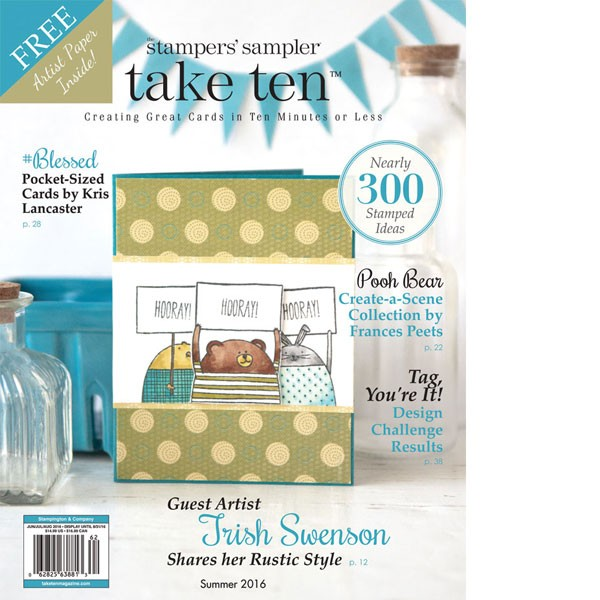 Review: The Stamper's Sampler Take Ten Magazine - Summer 2016