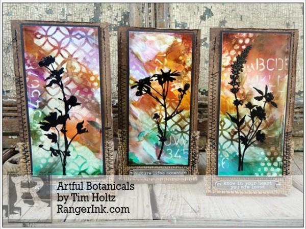 Technique: Floral Cards with Alcohol Inks