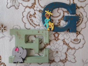 Project: Monogram Letters for a Child's Room
