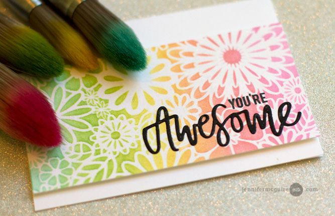 Review and Project: Clarity Stencil Brushes