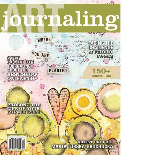 Magazine Review and Giveaway : Art Journal Magazine