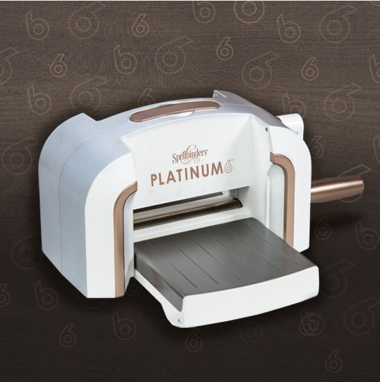 Review and Giveaway: Spellbinders Platinum 6 Die Cutting Machine