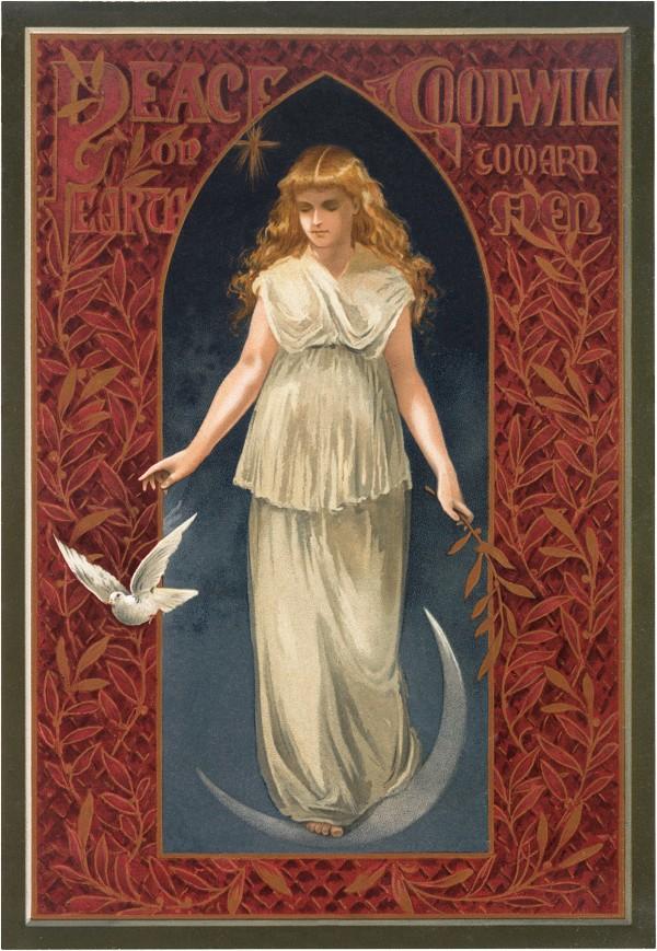 Freebie: Vintage Angel Image