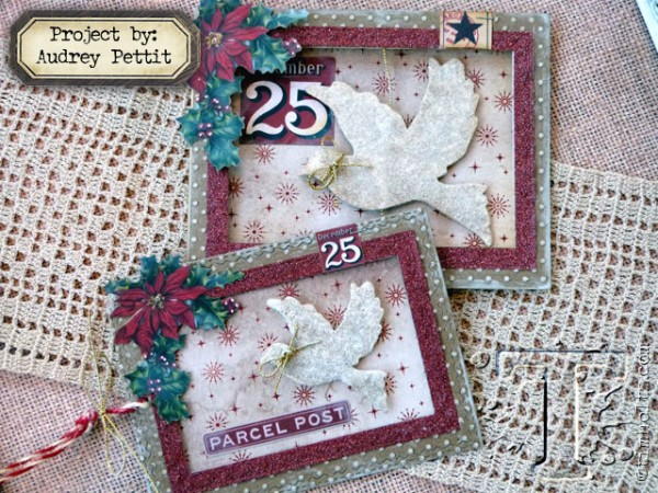 Project: Christmas Dove Spinning Card