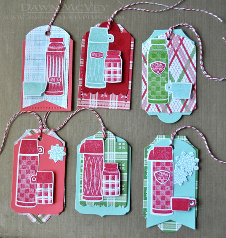 Project: Layered Christmas Tags
