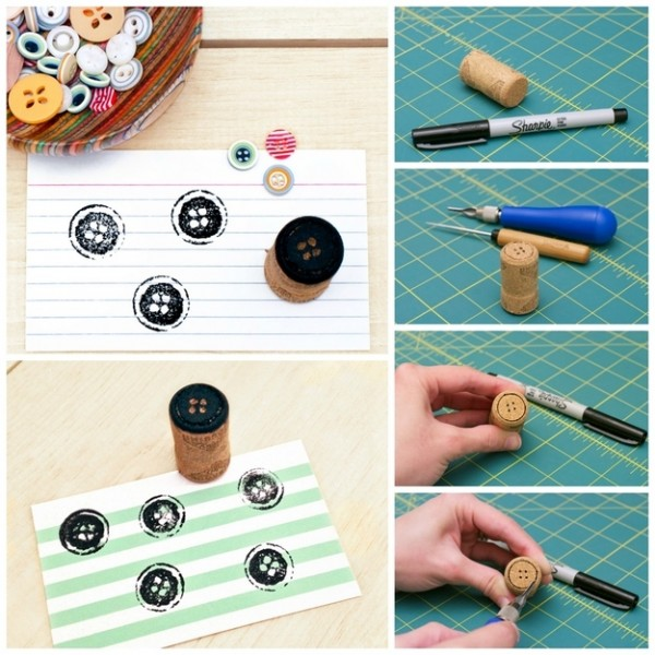 Tips: 30 DIY Handmade Stamp Ideas