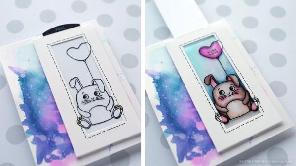 Project: Bunny Magic Slider Card