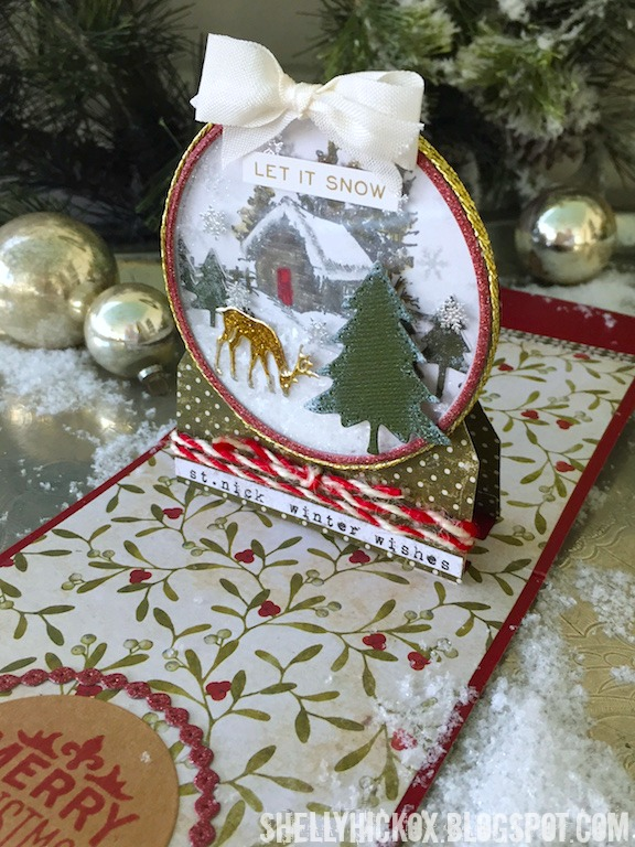 Project: Pop Up Snow Globe Card