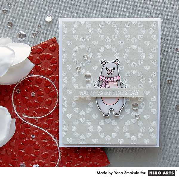 Tip: Winter Themed Valentine Card