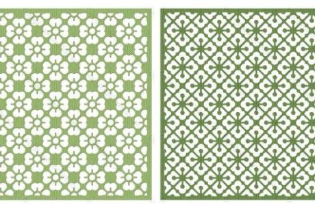 Freebie: Three Lattice Die Cut Files