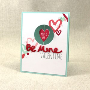 Project: Valentine;s Day Spinner Card