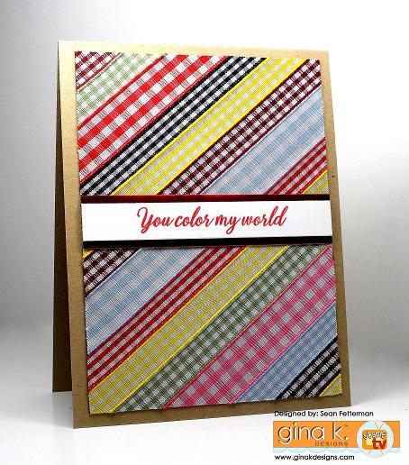 Project: Ribbon Card