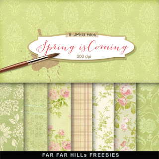 Download: Spring Pattern Papers