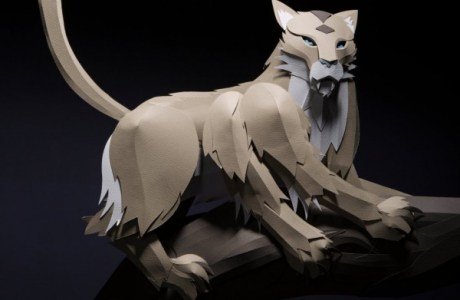 Inspiration: Fantastic Beast and Where to Find Them Paper Sculptures