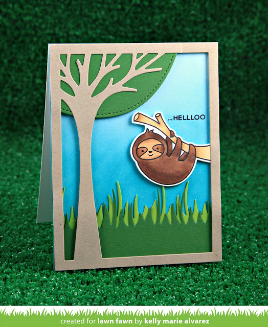 Trendy Project Sloth Cards