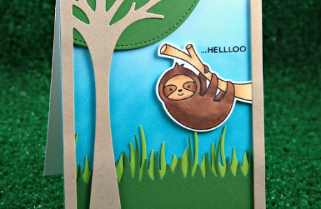 Trendy Project: Sloth Cards