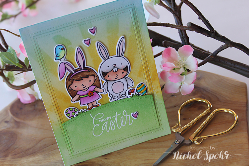 Project Easter Pocket Card