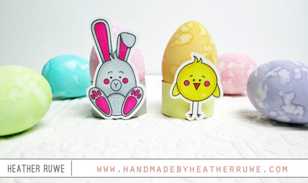 Project: Stamped Easter Egg Holders