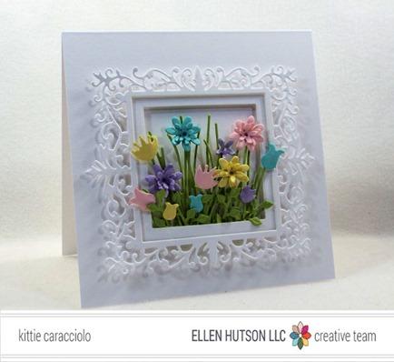Project: Framed Flower Bouquet Card