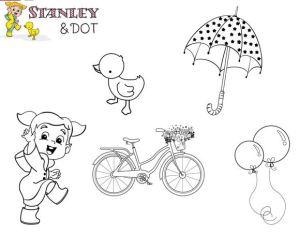 Downloads: 5 Spring Digital Stamps