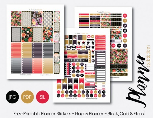 Download: Planner Stickers