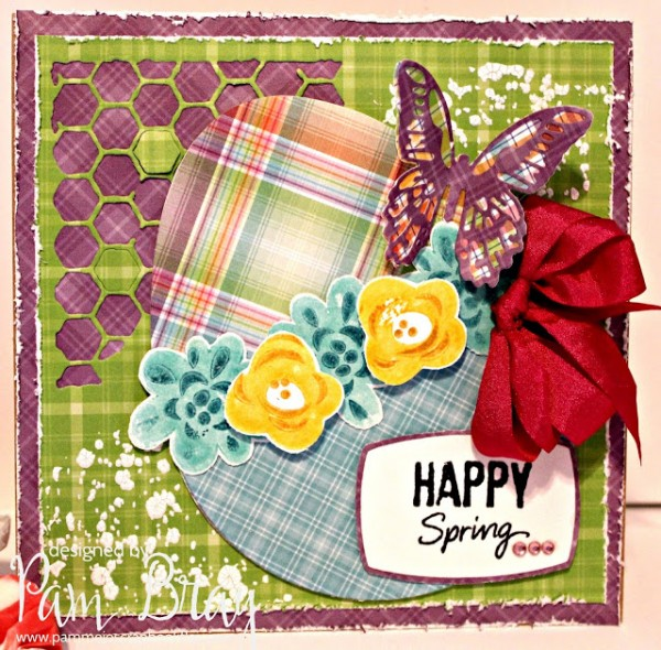 Project: Bold and Bright Spring Card