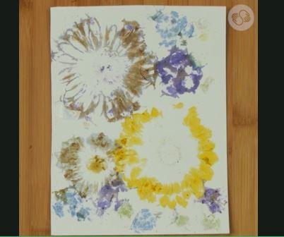 Technique: Hammered Flower Prints