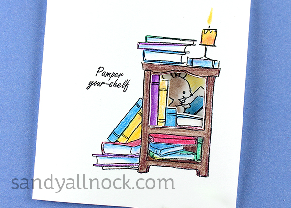 Project: Tri-Fold Cards and Coloring with Pencils and Gamsol