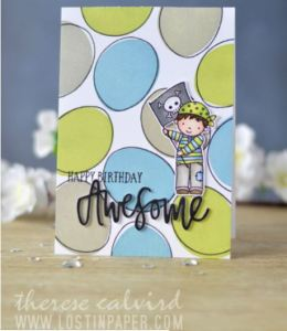 Projects: Pirate Boy and Girl Birthday Cards