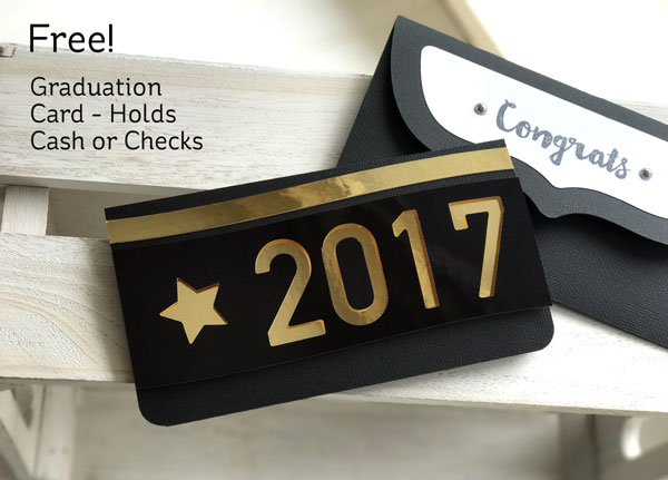 Download: Graduation Money Holder Card