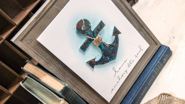 Project: Anchor Framed Wall Art