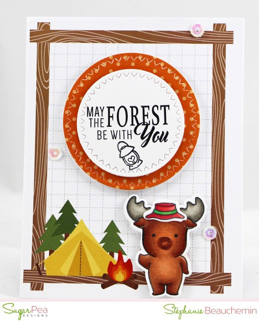 Project: Forest Moose Card