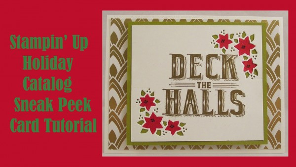 Sneak Peek: Stampin' Up Holiday Catalog