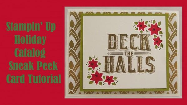 Sneak Peek: Stampin' Up Holiday Catalog