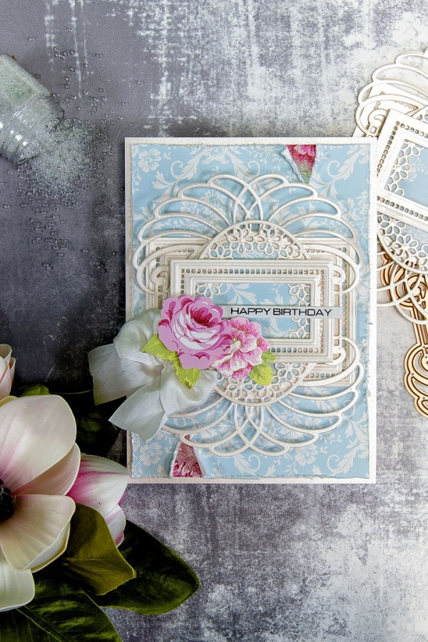 Project: Layered Die Cut Card