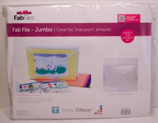 Product Review: Jumbo 12? x 18? Fab File from Totally Tiffany