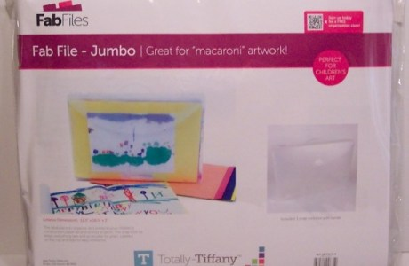 Product Review: Jumbo 12″ x 18″ Fab File from Totally Tiffany