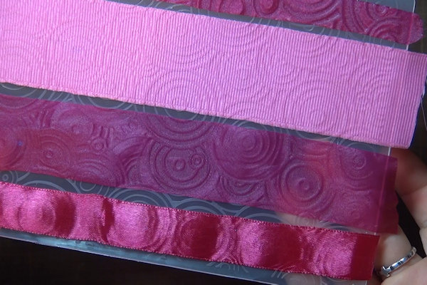 Technique: Embossed Ribbon