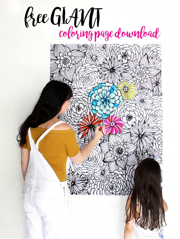 Download: Giant Coloring Page