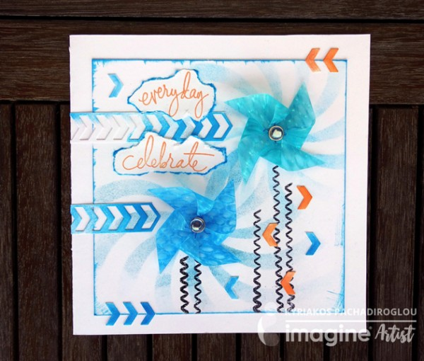 Project: Spinning Pinwheel Card