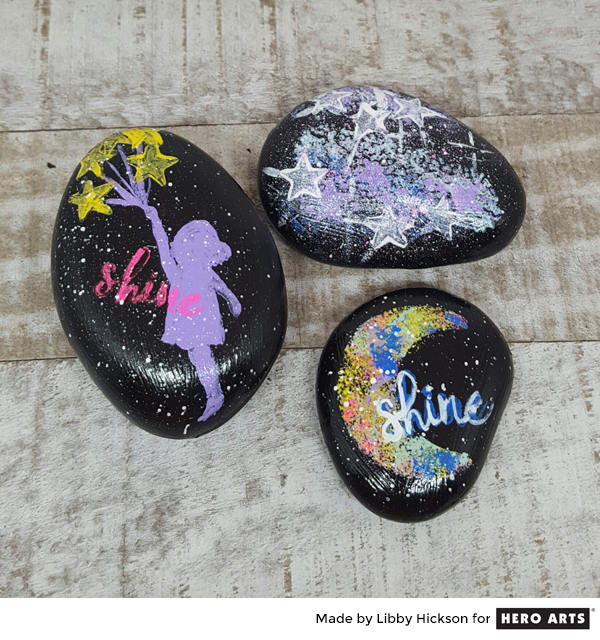 Project: Stamped Rocks