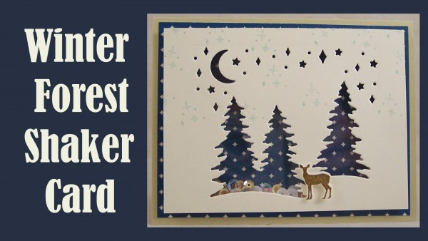 Project: Winter Trees Easy Shaker Card