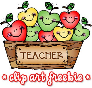 Download: Teacher Digital Clip Art