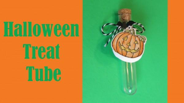 Project: Halloween Treat Tube